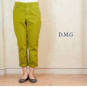 DMG ドミンゴ サージストレッチテーパードトラウザーパンツ|accueillir