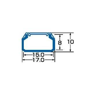 ケーブルカバー角型 幅17mm/長さ1m - CA-KK17|ace-of-parts|03
