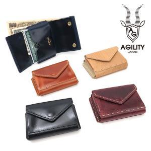 アジリティ 財布 メンズ レディース 折り財布 ナノウォレットミニ財布 0518 AGILITY affa 贈り物|ace-web