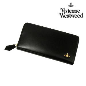 ヴィヴィアンウエストウッド 財布 メンズ レディース 長財布 ヴィンテージオーブ ラウンドファスナー長財布 ブラック 3118M121 Vivienne Westwood ウォレット|ace-web
