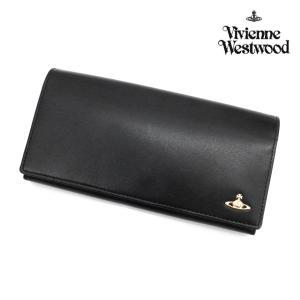 ヴィヴィアンウエストウッド 財布 メンズ レディース 長財布 ヴィンテージオーブ かぶせ長財布 ブラック 3118M101 Vivienne Westwood ユニセックス  ウォレット|ace-web