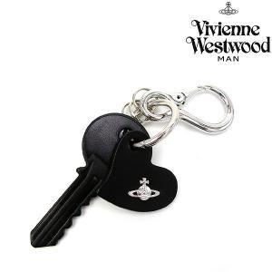 ヴィヴィアンウエストウッド 小物 メンズ レディース キーホルダー レザー キーチャーム ブラック 35180001 Vivienne Westwood メンズ ladies 贈り物|ace-web