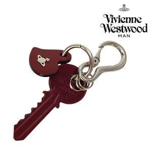 ヴィヴィアンウエストウッド 小物 メンズ レディース キーリング レザー キーチャーム ワインレッド 35180004 Vivienne Westwood メンズ ladies 贈り物|ace-web