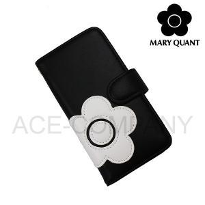 マリークワント 小物 レディース スマホケース iPhone7 8対応 デイジーアイコン 手帳型モバイルケース MARY QUANT マリクワ ladies ace-web