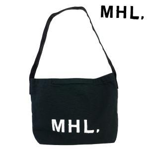 MHLの独特なロゴで知られる、マーガレットハウエルのキャンバストート。MHLといえば、コレ!というほ...