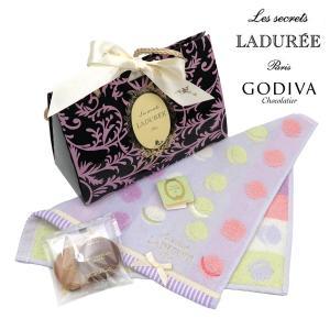 ゴディバ(GODIVA)xLADUREE スクレ・ラデュレの当店オリジナルギフトセット。マカロンやソ...