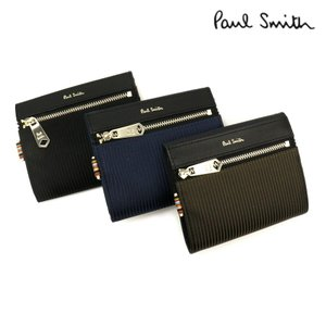 0437b81b81de ポールスミス 財布 メンズ 折り財布 トラベルストライプポケット 2つ折り財布 PSN833 Paul Smith ウォレット
