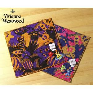 ヴィヴィアン ウエストウッド     ゴースト×エンブレムワッペン タオルハンカチ[2020ss](Vivienne Westwood)|ace-web