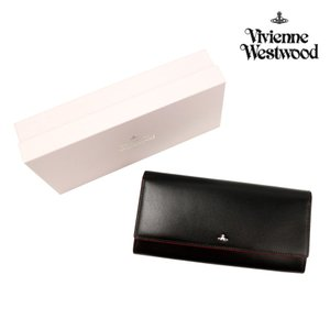 ヴィヴィアンウエストウッド 財布 メンズ レディース 長財布 シンプルタイニーオーヴ かぶせ長財布 3118D712 Vivienne Westwood ユニセックス  ウォレット|ace-web