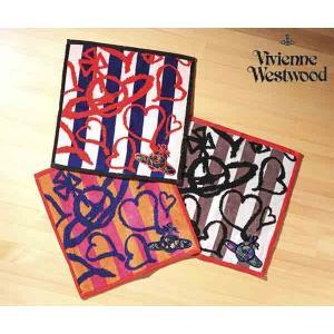 ヴィヴィアン ウエストウッド    ポップアートオーブ  タオルハンカチ[2019ss](Vivienne Westwood)【ビビアン 綿・コットン レディース 刺繍 ギフト 人気】|ace-web