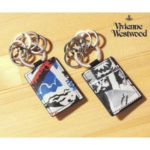 ヴィヴィアン ウエストウッド トラベルプリント キーリング【VWK490】(Vivienne Westwood)|ace-web