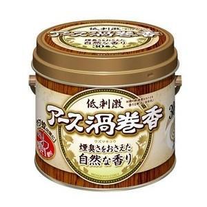 《アース製薬》アース渦巻香 煙臭さをおさえた自然な香り 缶入り(30巻)|ace