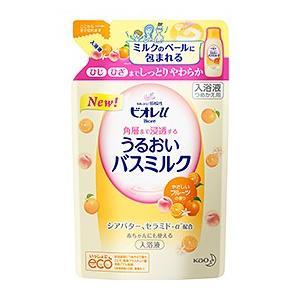 『ビオレu 角層まで浸透する うるおいバスミルク やさしいフルーツの香り(480ml)詰替え用』は、...