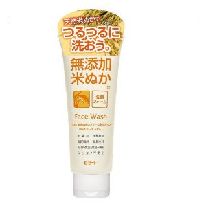 100%植物由来のクリーム状石けんと米ぬかでしっとりすべすべに。 100%植物由来のクリーム状石けん...