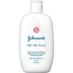 《ジョンソンアンドジョンソン》ジョンソン ベビーローション 無香料 100ml|ace