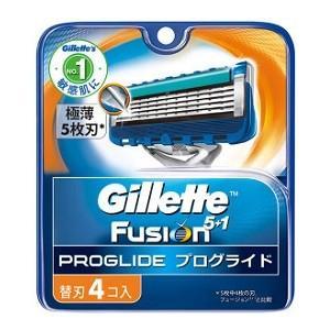 《P&G》ジレット プログライドマニュアル 替刃(4個入)