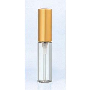 【ヤマダアトマイザー】グラスアトマイザー プラスチックポンプ《5203:アルミキャップ ゴールド》つや消し ace