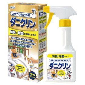 《UYEKI》ペット ダニクリン 除菌・消臭スプレータイプ 250ml (防虫対策)