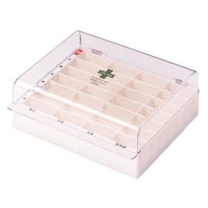 《シンコハンガー》 ライフエイド くすり整理キープケース (薬箱/薬入れ/薬ボックス/薬収納)|ace