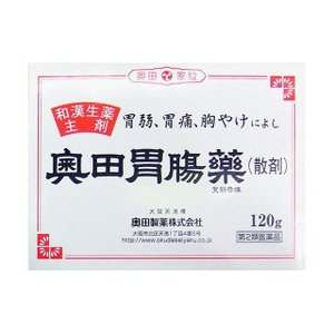 《奥田製薬》 奥田胃腸薬 散剤 120g 【第2類医薬品】