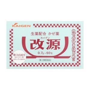 《カイゲン》 改源 60包 【指定第2類医薬品】 (風邪薬)