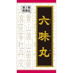 《クラシエ》六味丸料(ロクミガンリョウ)エキス錠 180錠【第2類医薬品】(漢方製剤・尿関連)|ace