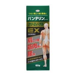 《興和》 バンテリンコーワ クリーミィーゲルEX 60g 【第2類医薬品】|ace