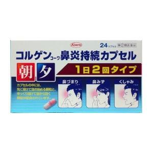 《興和》コルゲンコーワ鼻炎持続カプセル 24カプセル【指定第2類医薬品】(鼻炎薬)