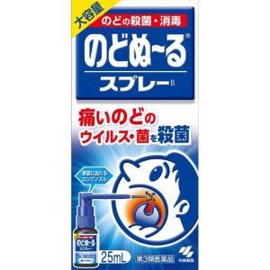 《小林製薬》 のどぬ〜るスプレー 大容量25ml 【第3類医薬品】 (口腔内殺菌剤)|ace