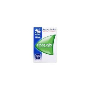 《武田薬品》 ニコレットクールミント 96個入 【指定第2類医薬品】 (禁煙補助剤)|ace