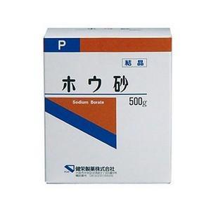 《健栄製薬》 ホウ砂 (結晶) P 500g|ace