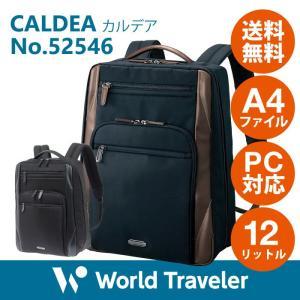 ビジネスバッグ メンズ リュックサック エース ワールドトラベラー カルデア 送料無料 バックパック 通勤 A4サイズ PC収納 52546|aceonlinestore
