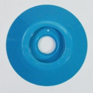 W304 コノエダブル No.3 青 (20個入)  外径47mm×高さ7mm 測量用明示板 測量鋲 ポイント 標示板 土地家屋調査|acetech
