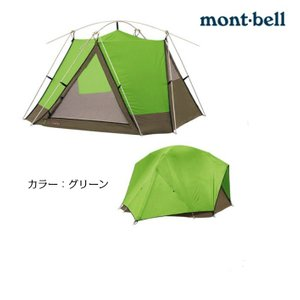 [送料無料] [予約販売商品] mont-bell モンベル ムーンライトテント5型 (4-5人) キャンプ サイクリング ツーリング 優れた防水性|acetech