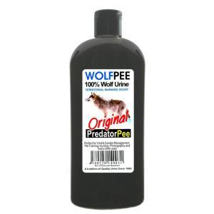 オオカミの尿100%の動物よけリキッド。野生動物は、テリトリーにマーキングして互いの存在を知らせる習...
