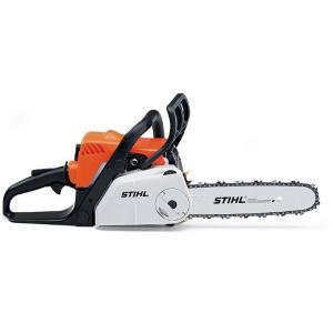 [送料無料] STIHL(スチール) 軽量コンパクトエンジンチェンソー MS180C-BE  ガイドバー35cm 農林 木材切断|acetech