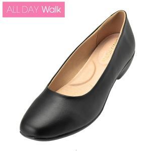 ALL DAY Walk 018 ブラック    [ALD0180]  ※21.0〜26.0cm オールデイウォーク/パンプス/歩きやすい|achilles-shop3