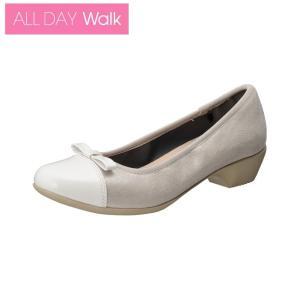 ALL DAY Walk 069 グレー/ホワイト/パンプス/歩きやすい|achilles-shop3