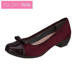 ALL DAY Walk 069 ワイン ※21.0〜26.0cm/パンプス/歩きやすい|achilles-shop3
