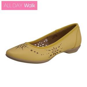 ALL DAY Walk 203 ライトイエロー[ALD 2030] ※22.5-25.0cm 2E/パンプス/歩きやすい|achilles-shop3