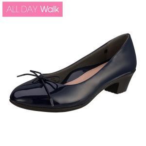 ALL DAY Walk 213 ネービー [ALD 2130] ※21.0-26.0cm 2E/パンプス/歩きやすい|achilles-shop3