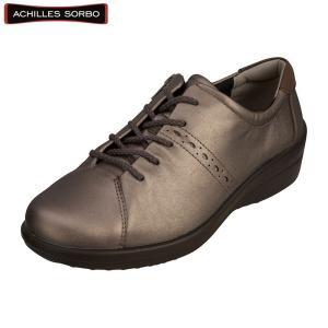 レディース ウォーキングシューズ 幅広 靴 トラベルシューズ 履き心地の良い靴 アキレス・ソルボ C...