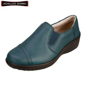 アキレス・ソルボ C 346 ブルー/レディース/婦人靴/ウォーキングシューズ/カジュアル/履きやすい|achilles-shop3