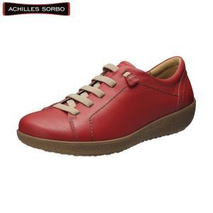 アキレス・ソルボ C 374 レッド/レディース/婦人靴/ウォーキングシューズ/カジュアル/履きやすい|achilles-shop3