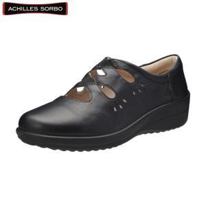 アキレス・ソルボC 378 黒/レディース/婦人靴/ウォーキングシューズ/カジュアル/履きやすい|achilles-shop3