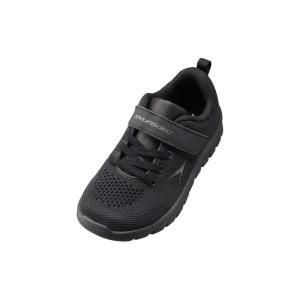 瞬足 キッズ 男 子供靴 スニーカー 子供靴サイズ 子供靴 安い 瞬足 JC-754 黒 黒