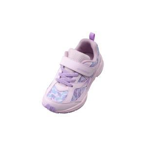 瞬足 キッズ 女 子供靴 スニーカー 子供靴サイズ 安い 女の子 瞬足 LC-642 ラベンダー