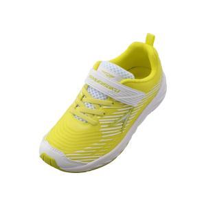 【3E】瞬足 LJ-580 ライトイエロー[LEJ5800]※19.0-24.5cmキッズ/子供靴/3E/幅広/ワイド|achilles-shop3