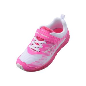 【3E】瞬足 LJ-580 白/ピンク[LEJ5800]※19.0-24.5cmキッズ/子供靴/3E/幅広/ワイド|achilles-shop3