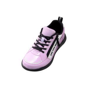 スニーカー女の子 靴 子供靴 運動靴 キッズ 瞬足ユニバーサルデザイン LJ-704 ラベンダー